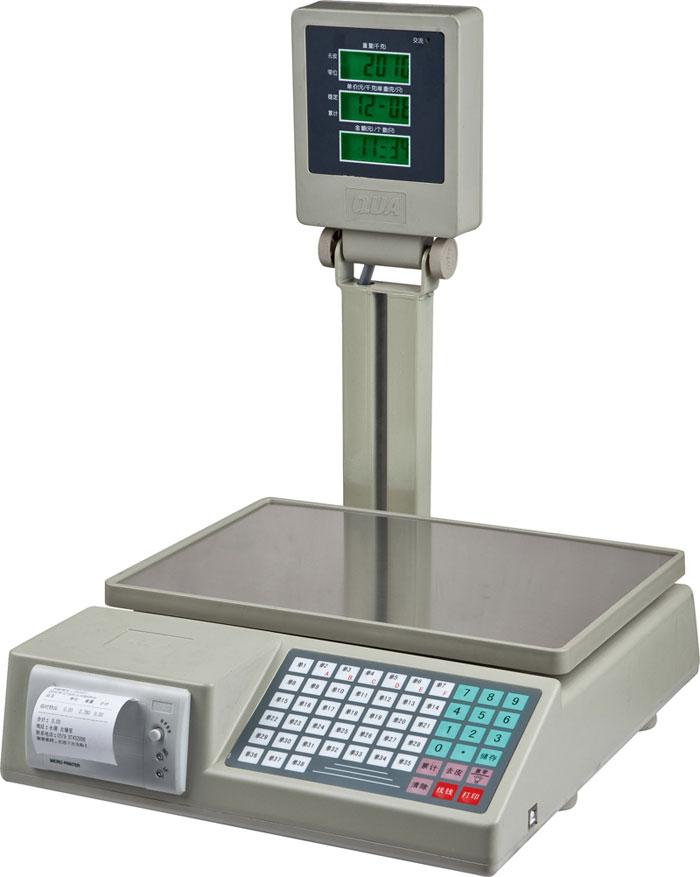 Printing computing scale 806